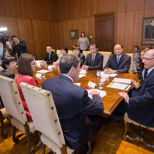 Reunião para Construção de Hospital Chinês em São Paulo