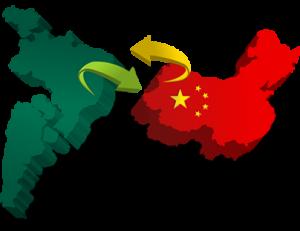 Resultado de imagem para CHINA E BRASIL
