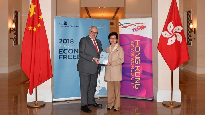 Hong Kong é classificada como economia mais livre do mundo por 24 anos consecutivos