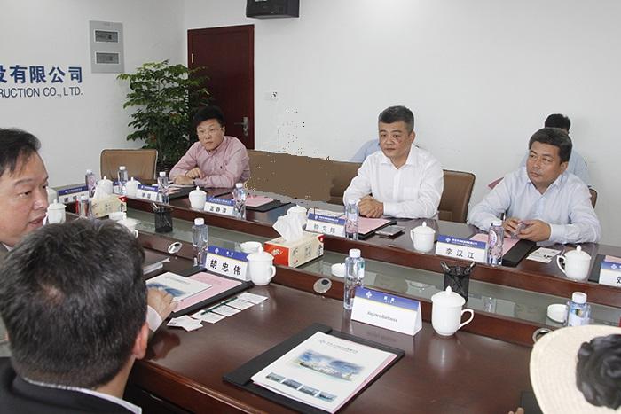 CCCC TIANJIN DREDGING CO.,LTD. O Presidente da Wenwei Zhong falou sobre a empresa